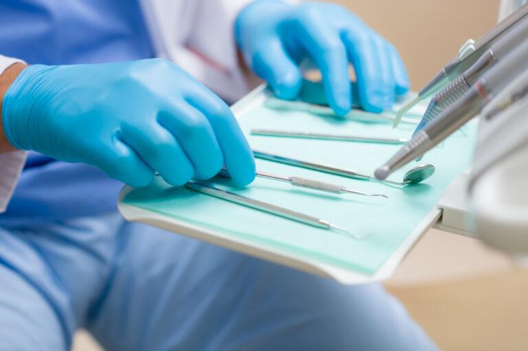 dental instruments for dental scaling