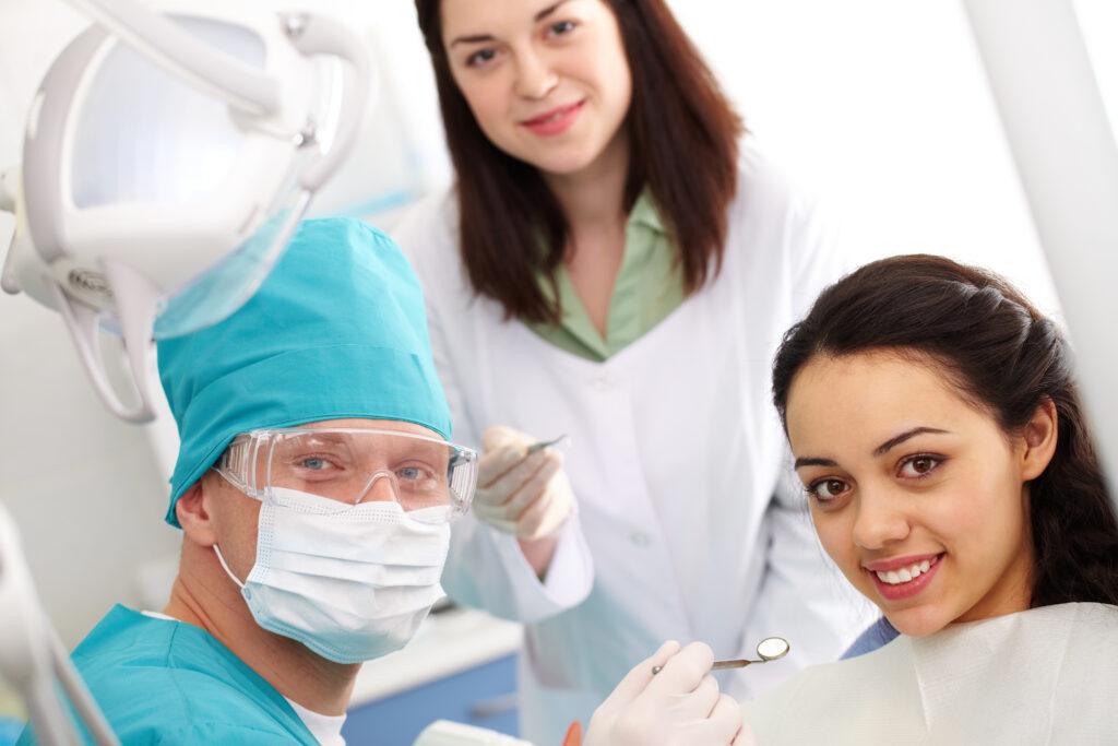 patient satisfied with dental procedure