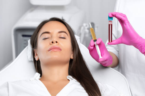 Mesotherapy treatment for face