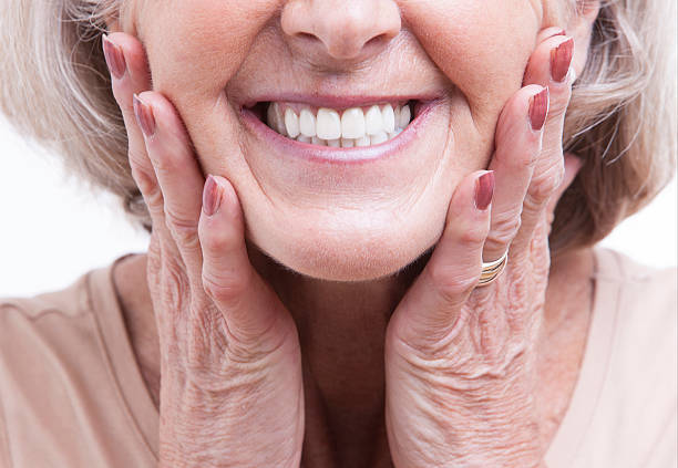 what are dentures made of