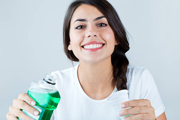use antibacterial mouthwashes for dry socket