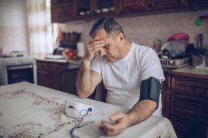Stroke symptoms include high blood pressure