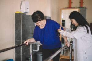 Treatment for stroke includes physical therapy