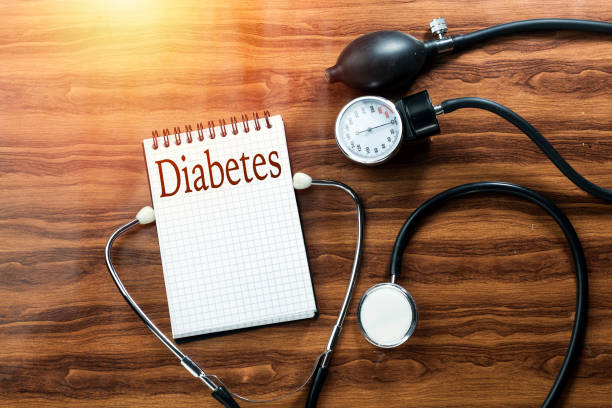 disease diabetes concept text writing